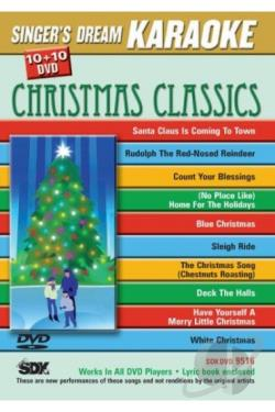 Singer's Dream Karaoke: Christmas Classics DVD Cover Art