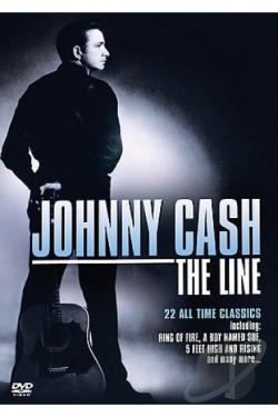 Johnny Cash - The Line: Walking With A Legend DVD Cover Art