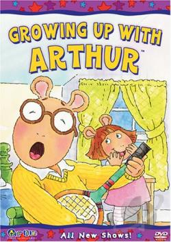 Arthur - Growing up with Arthur DVD Cover Art