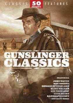 Gunslinger Classic 50 Movie Pack DVD Cover Art