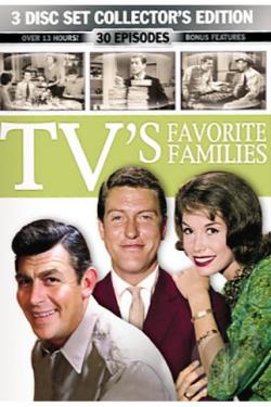 TV's Favorite Families DVD Cover Art
