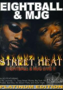 Eightball & MJG - Street Heat: Live DVD Cover Art
