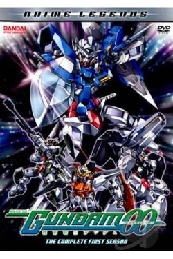 Mobile Suit Gundam 00: The Complete First Season DVD Cover Art