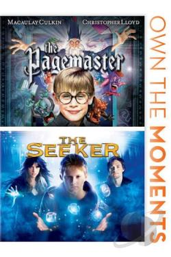 Seeker/The Pagemaster DVD Cover Art