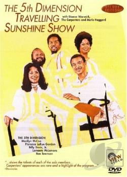 5th Dimension Travelling Sunshine Show DVD Cover Art