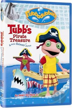 Rubbadubbers: Tubb's Pirate Treasure & More Swimmin' Stories DVD Cover Art