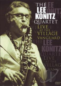 Lee Konitz Quartet: Live at the Village Vanguard DVD Cover Art