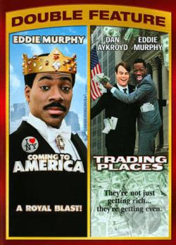 Coming to America/ Trading Places DVD Cover Art
