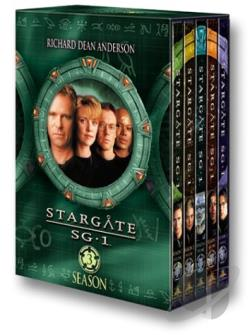 Stargate SG-1 - The Complete Third Season DVD Cover Art