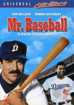 Mr. Baseball DVD Cover Art
