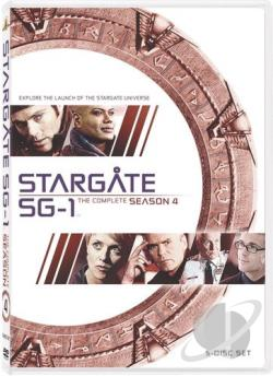 Stargate SG-1 - The Complete Fourth Season DVD Cover Art
