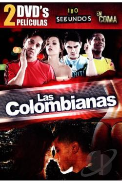 Colombianas: 180 Segundos/En Coma DVD Cover Art