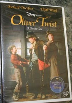 Oliver Twist DVD Cover Art