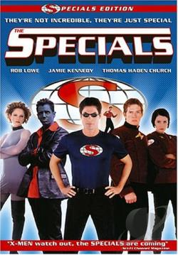 Specials DVD Cover Art