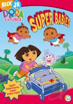 Dora the Explorer - Super Babies DVD Cover Art