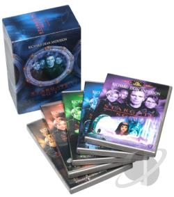 Stargate SG-1 - The Complete Sixth Season DVD Cover Art