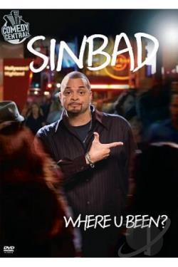 Sinbad: Where U Been? DVD Cover Art