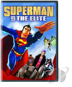 Superman vs. The Elite DVD Cover Art