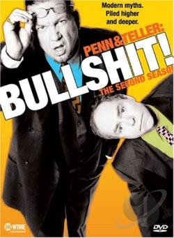 Penn & Teller - Bullshit! - The Complete Second Season DVD Cover Art