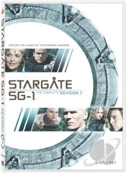 Stargate SG-1 - The Complete Seventh Season DVD Cover Art
