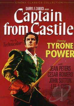 Captain from Castile DVD Cover Art