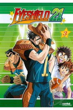 Eyeshield 21: Collection 3 DVD Cover Art