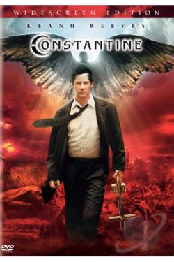 Constantine DVD Cover Art