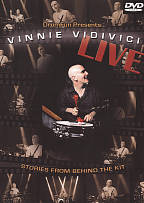 Vinnie Vidivici: Live - Stories from Behind the Kit DVD Cover Art