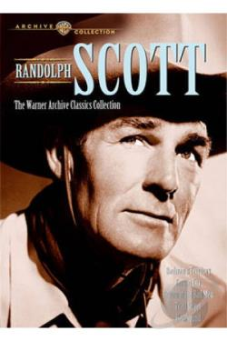 Randolph Scott: The Warner Archive Classics Collection DVD Cover Art