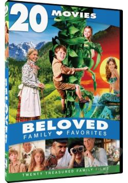 Beloved Family Favorites: 20 Movies DVD Cover Art