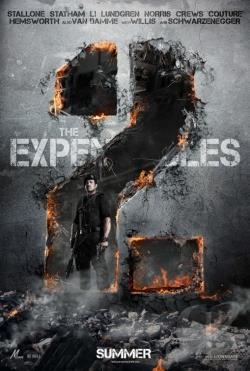 Expendables 2 DVD Cover Art