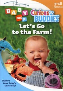 Nick Jr. Baby - Curious Buddies: Let's Go to the Farm! DVD Cover Art