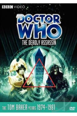 Doctor Who - The Deadly Assassin DVD Cover Art