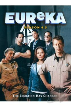 Eureka: Season 4.5 DVD Cover Art