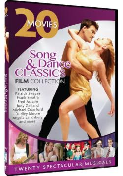 Song & Dance Classics Film Collection: 20 Movies DVD Cover Art