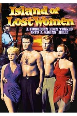 Island of Lost Women DVD Cover Art