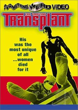 Amazing Transplant DVD Cover Art