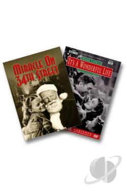 It's a Wonderful Life/Miracle on 34th Street - 2 Pack DVD Cover Art