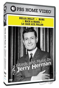 Words & Music By Jerry Herman DVD Cover Art