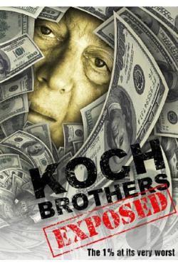 Koch Brothers Exposed DVD Cover Art