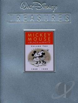 Walt Disney Treasures: Mickey Mouse In Black & White : Volume Two DVD Cover Art