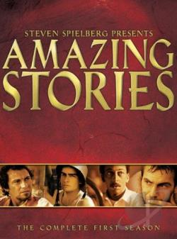 Amazing Stories - The Complete First Season DVD Cover Art