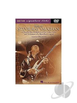 Best of Stevie Ray Vaughn DVD Cover Art