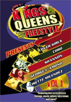 Kings & Queens of Freestyle - Volume 1 DVD Cover Art