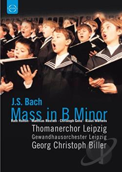 Bach - Mass in B Minor DVD Cover Art