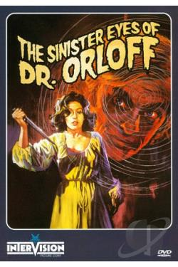 Sinister Eyes of Dr. Orloff DVD Cover Art