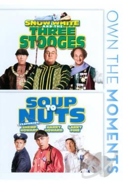 Snow White and the Three Stooges/Soup to Nuts DVD Cover Art