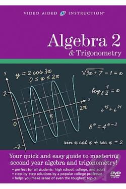 Math Literacy for Everyone - Algebra 2 & Trigonometry DVD Cover Art