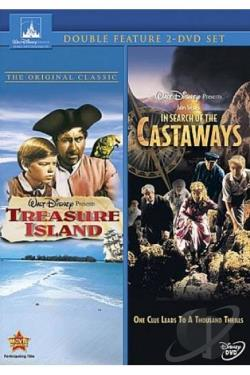 Treasure Island/In Search Of the Castaways DVD Cover Art