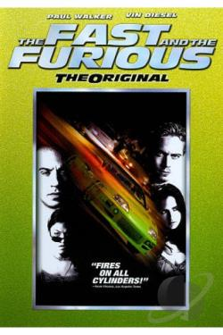 Fast and the Furious DVD Cover Art